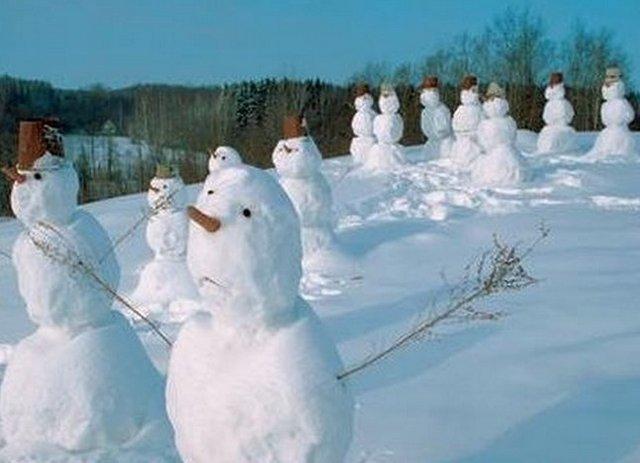 Традиция снеговика лепить: статьи компании Мастерская Яроведа